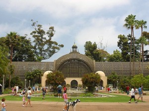 botanique, bâtiment, Balboa, parc