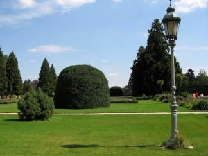château, jardin, parc