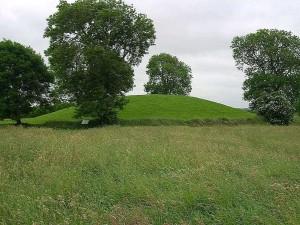 mound, top, navan, fort
