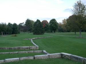noleridge, parco, cedro, Rapids, Iowa, pietra