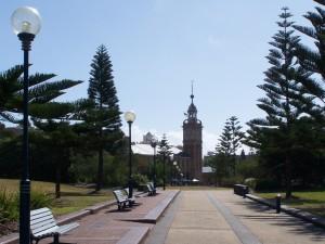 park, walkway
