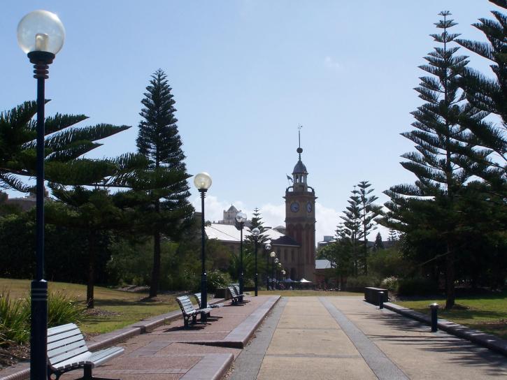 parc, promenade