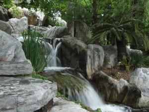 stream, Chinese, gardens