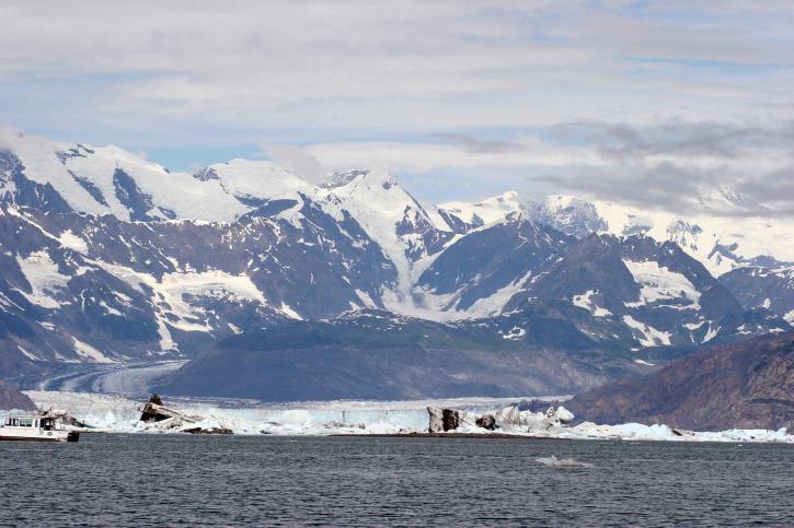 big, glacier, scenic