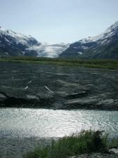 выход, ледник