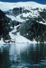 glacier, long, lake