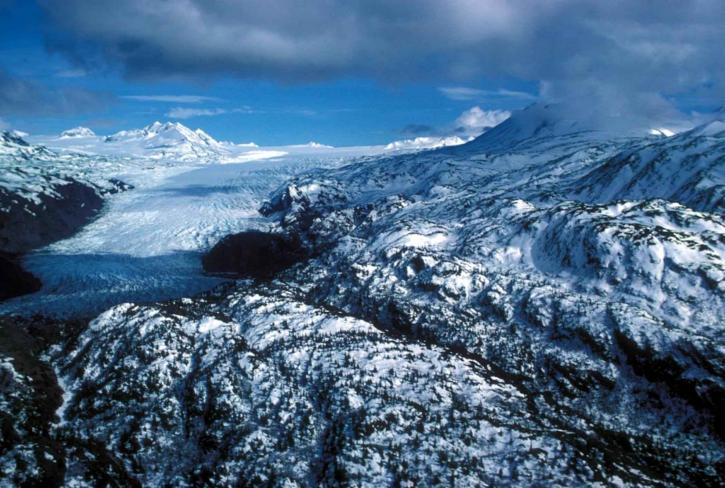 glacier, west, Cook, Inlet, Alaska