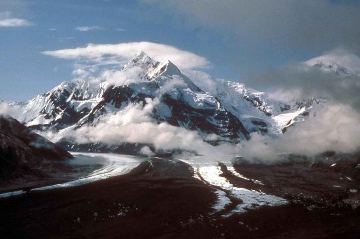 hayes, glacier, peaks, scenics