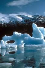 ice, berg, frost