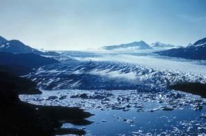 빙산, 호수