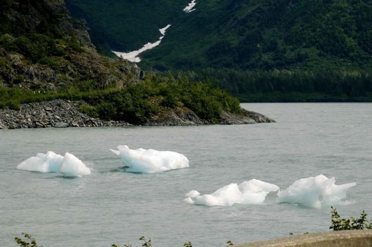 빙산, 물