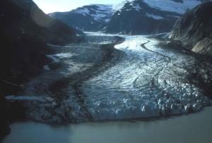 쉐이크, 빙하, 남동쪽, 알래스카