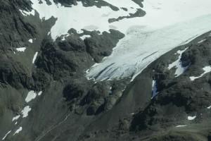 snowy, glaciers, mountains