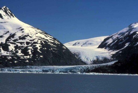 tidewater, glacier