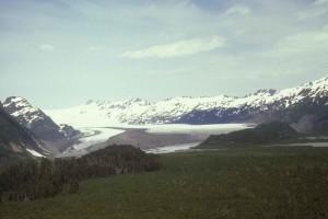 yalik, ľadovec, hory, scénické