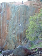 abseiler, freefall, gooseberry, hill