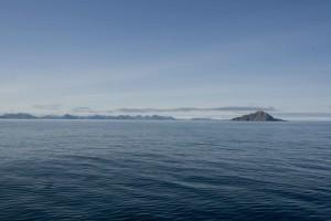 aléute, îles, océan, l'eau
