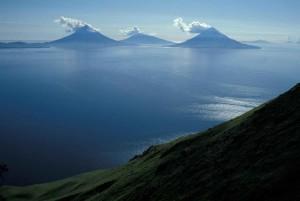 îles, quatre, montagnes