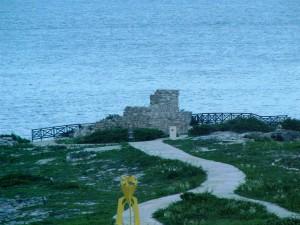 isla, mujeres, le mexique, ruines