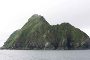 Oceanic, ridge, med utsikt over vannet, omgitt, vann