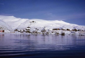 scenic, water, village, island, Atka, Aleutian, islands