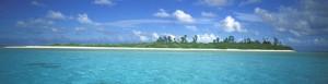 tropical, marin, environnement, scénique, paysage
