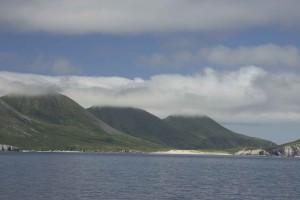 lagon, scénique, paysage