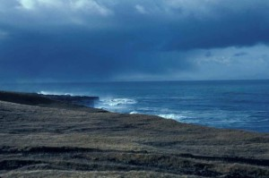 scenic, lagoon, windy, day