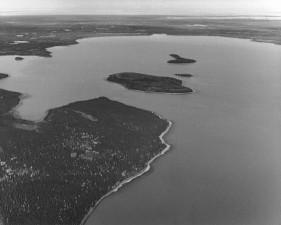 karibu, pulau, Skilak, Danau