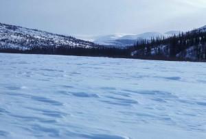 frozen, lake, scenics