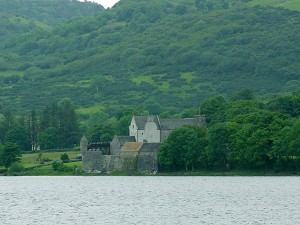 Kieme, lough, Seen, Irland, Parkes, Schloss