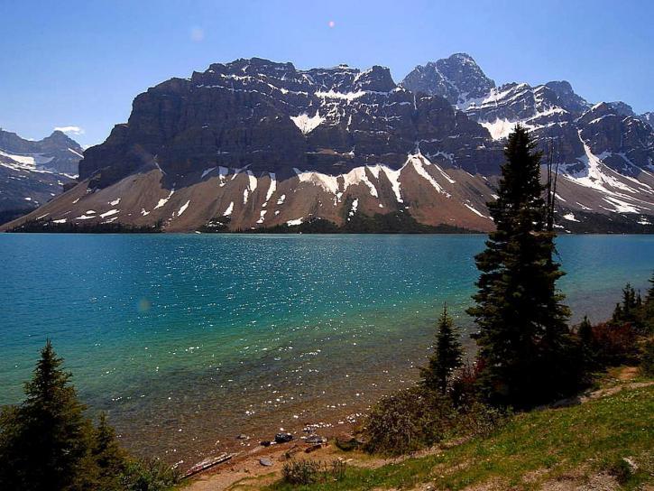 jasper, Canada, lakes, mountains