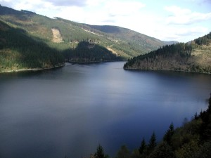 lake, bay