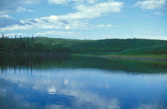 lake, spring, scenics