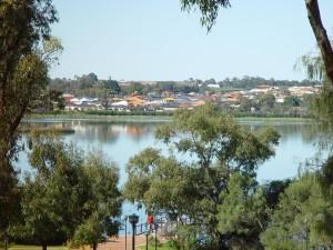 lac, Joondalup, occidental, Australie