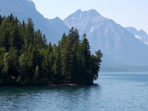 lake, McDonald, glacier, national park, Montana
