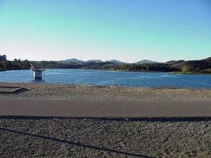 jezero, Miramar, Mira, Mesa, San Diego, voda
