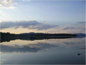 Лейк, Umbagog, езеро, Umbagog, пустинята, убежище