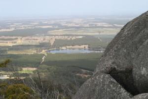 호수, Yellanup, 성곽, 바위