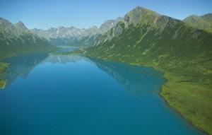 montagne, lac
