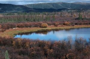 nice, lake, landscape, autumn