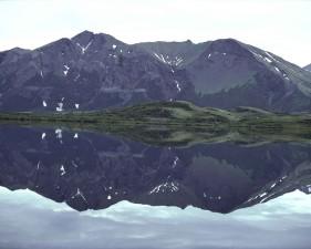 nice, mirored, mountain, lake, scenic