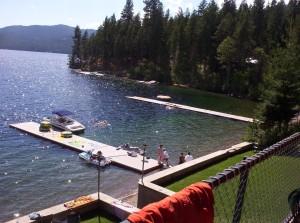 priest, lake, Idaho, dock