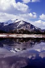 rocky, mountain, resevoir