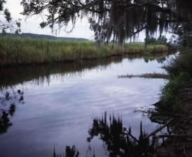 scenic, landscape, water, edge