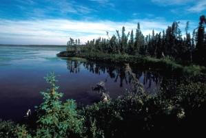 six, mile, lake, landscape
