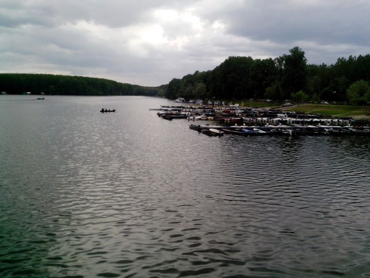 tikvara, Lake, dusk