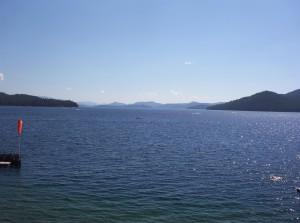 präst, sjön, idaho