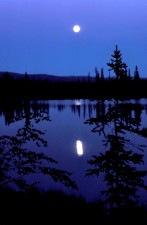 moonscape, scénique, paysage