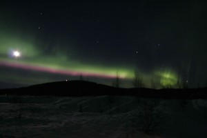 northern lights, Alaska, aurora, borealis, lights, night